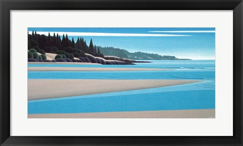 Framed Sandy Shore Print