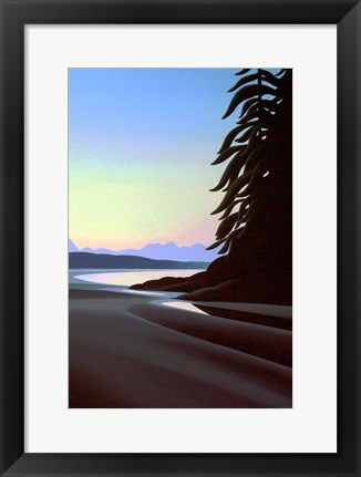 Framed Summer Evening Print