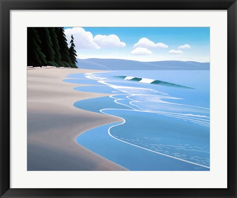 Framed Summer Sand Print