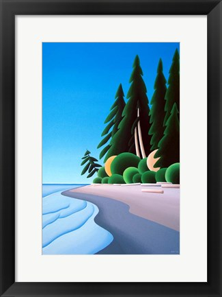 Framed Summer Shore Print