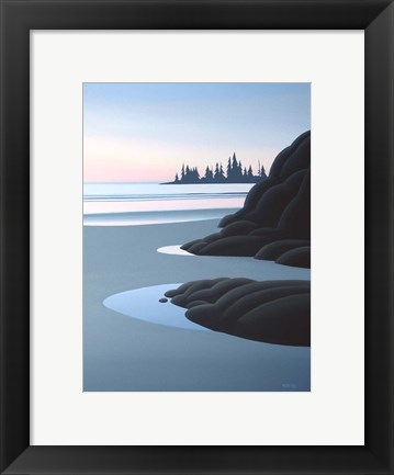 Framed Summer Dusk Print