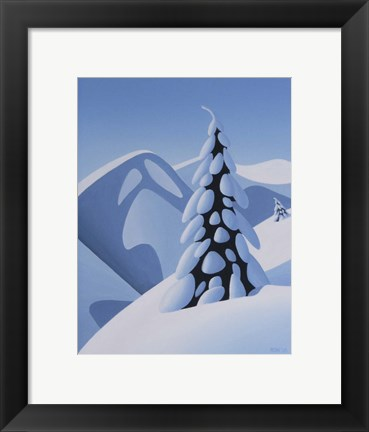 Framed Soft Slope Print