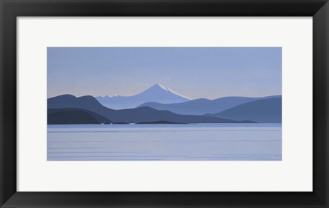 Framed Mount Baker - Morning Print