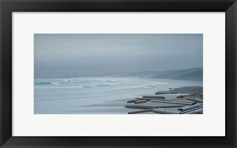 Framed Gray Sky Print