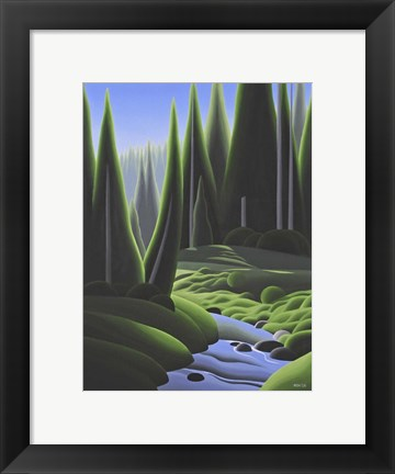 Framed Alpine Summer Print