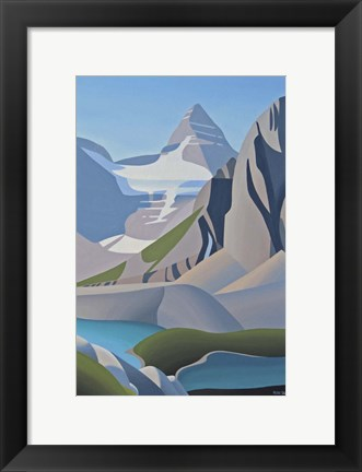 Framed Assiniboine Print