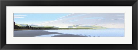 Framed Qualicum Bay Print