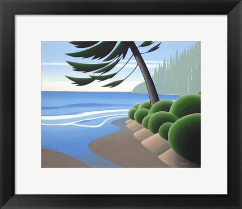 Framed West Shore Print