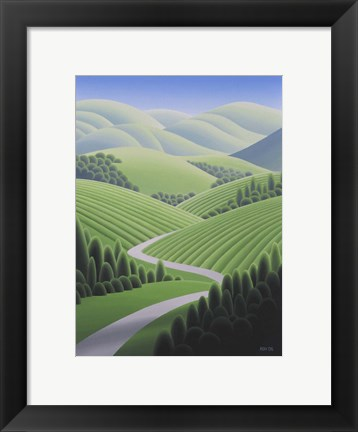 Framed Wine Country 2 Print