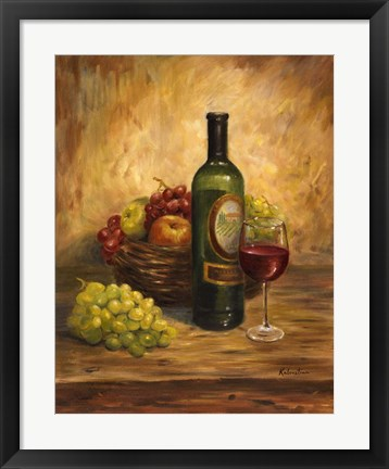Framed Tuscany Table Print