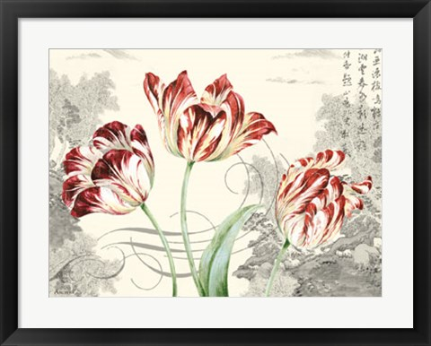 Framed Imperial Tulips Print