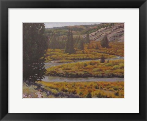 Framed Horse Creek Print