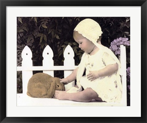 Framed Tender Touch Print