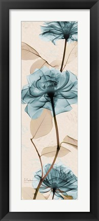 Framed Rose Print