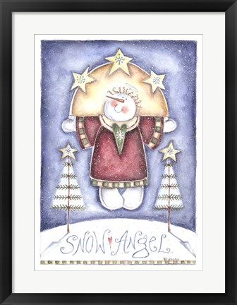 Framed Snow Angel Print