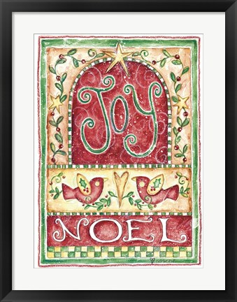 Framed Joy Noel Print