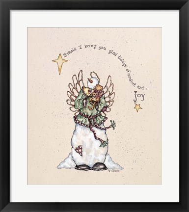 Framed Comfort Of Joy Print
