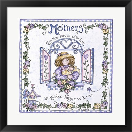 Framed Mothers Print