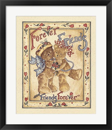Framed Forever Friends Print