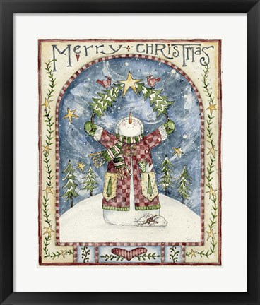 Framed Merry Christmas 2 Print