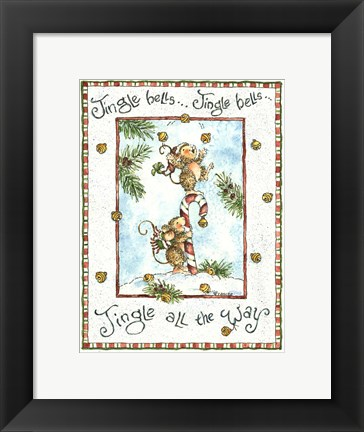Framed Jingle All The Way Print
