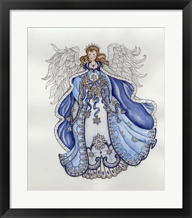 Framed Angel Print
