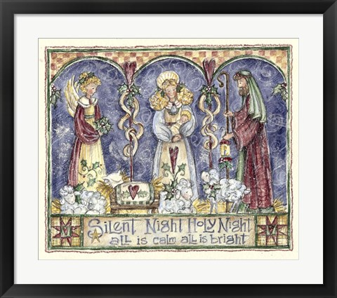 Framed Silent Night 300 Print