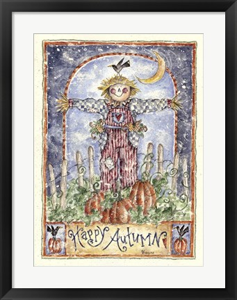 Framed Happy Autumn Print
