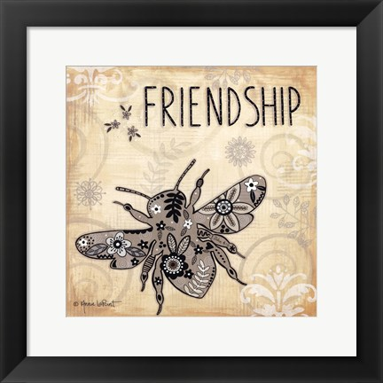 Framed Friendship Print