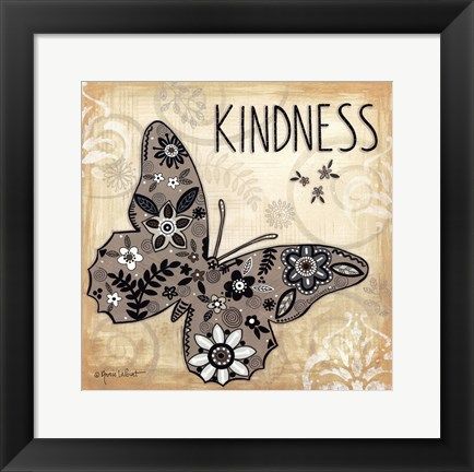 Framed Kindness Print