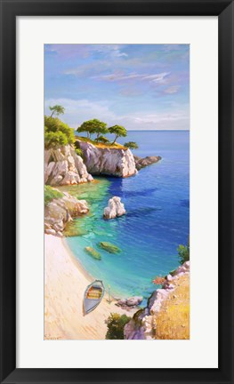 Framed Caletta nel Sole Print