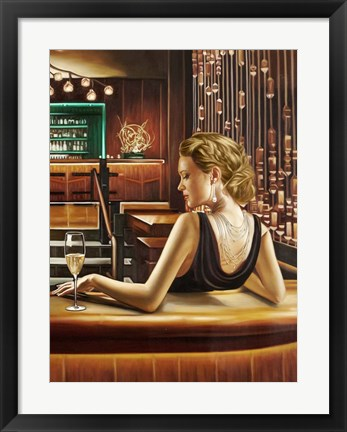 Framed Night Out II Print