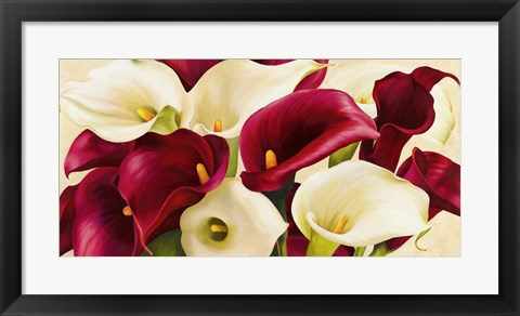 Framed Calla Composition Print