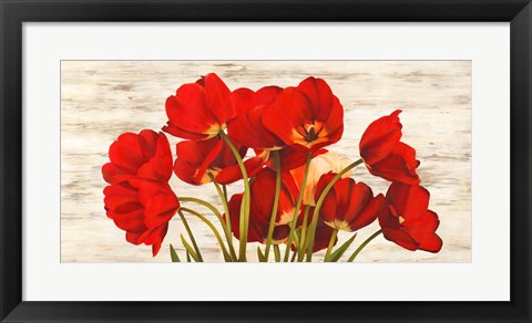 Framed French Tulips Print