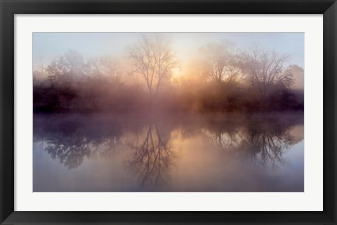 Framed Morning Lake Print