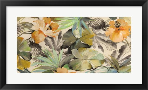 Framed Wild Ibiscus Print