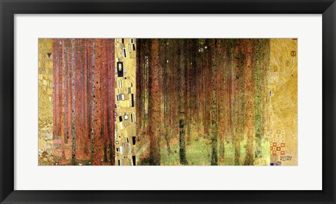 Framed Forest I Print