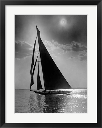 Framed Vanitie during the America's Cup, ca. 1900-1910 Print