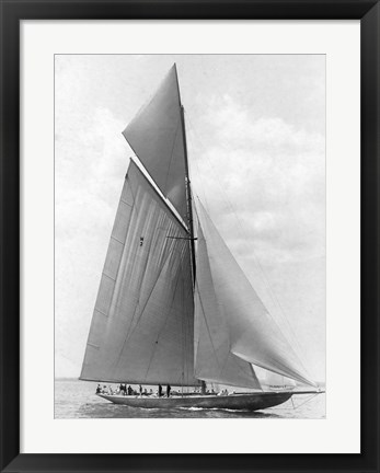 Framed Vanitie During the America's Cup, 1910 Print