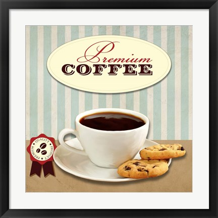 Framed Premium Coffee Print