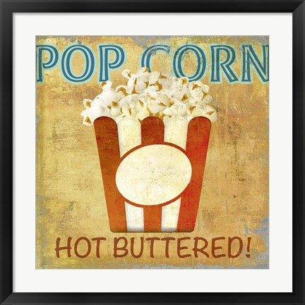 Framed Pop Corn Print