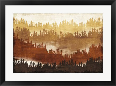 Framed Mountainscape Spice Print