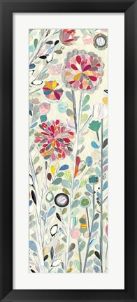 Framed Spring Blossoms III Print
