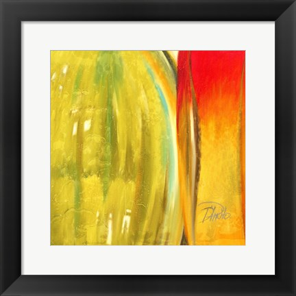 Framed Color Glass II Print