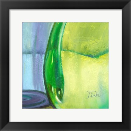 Framed Color Glass VII Print