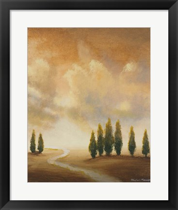 Framed Open Sky I Print