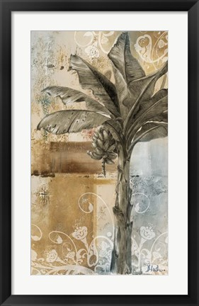 Framed Palm & Ornament II Print