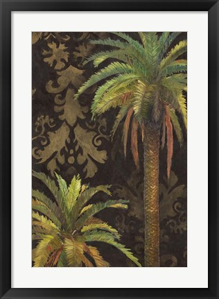 Framed Palms I Print