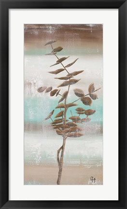 Framed Winter Beach II Print