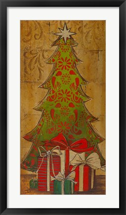 Framed Christmas Tree I Print